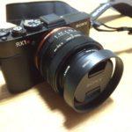 RX1Rレンズ保護用amazonのレンズフードを購入&装着レビュー