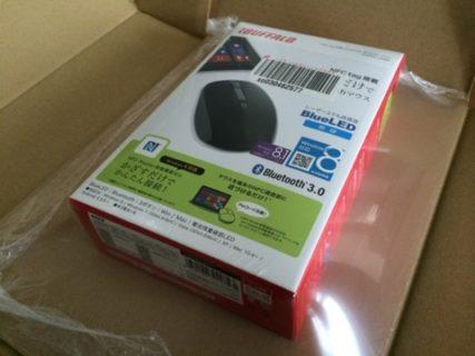 XPERIAをノートPCみたいに使えるNFC対応Bluetooth無線マウスiBUFFALO BSMBB10NBK