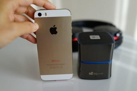 EC Technology 5W Bluetooth4.0 スピーカー ワイヤレススピーカー大きさ比較
