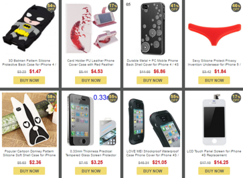 IPHONE ACCESSORIES フラッシュセール iPhone4/4S用アクセサリー