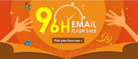 Gearbest 96H EMAIL FLASH SALE