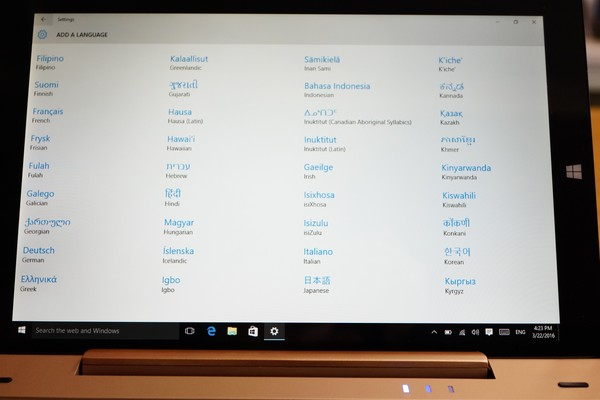 Onda OBook10 Ultrabook Tablet PC レビュー日本語化