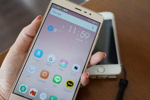 Xiaomi Redmi note 3 proサイズ感の説明