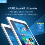 Cube iwork8 Ultimate 8インチで8千円のタブレットPC