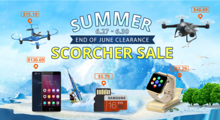 6/27-6/30 EverBuying END of JUNE Clearance SALE情報