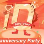 Banggood10周年記念セール開催中!