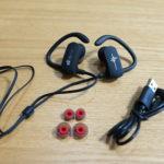 EC Technology 防滴IPX4 Blutoothスポーツイヤホン バランスよく鳴るタイプ