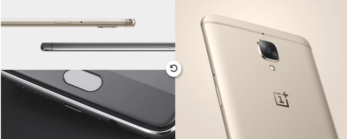 OnePlus 3 外観写真