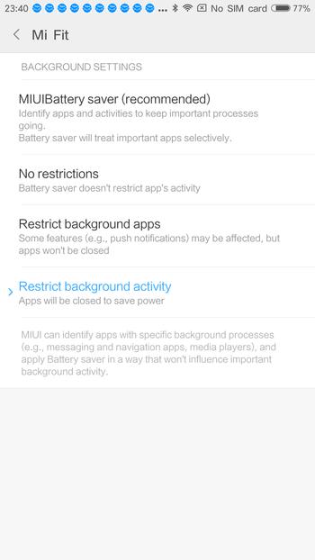 MiBand 2 レビュー MiFitアプリについて