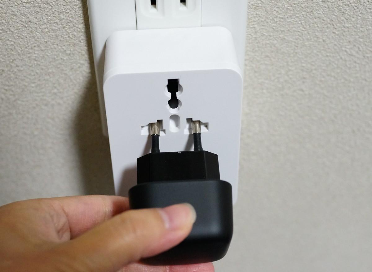 dodocool USB充電器 壁式 ACアダプター レビュー ユニバーサル対応