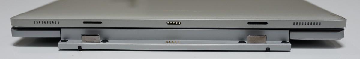 Teclast TBook 12 Pro 実機レビュー キーボードとの接地面参考画像