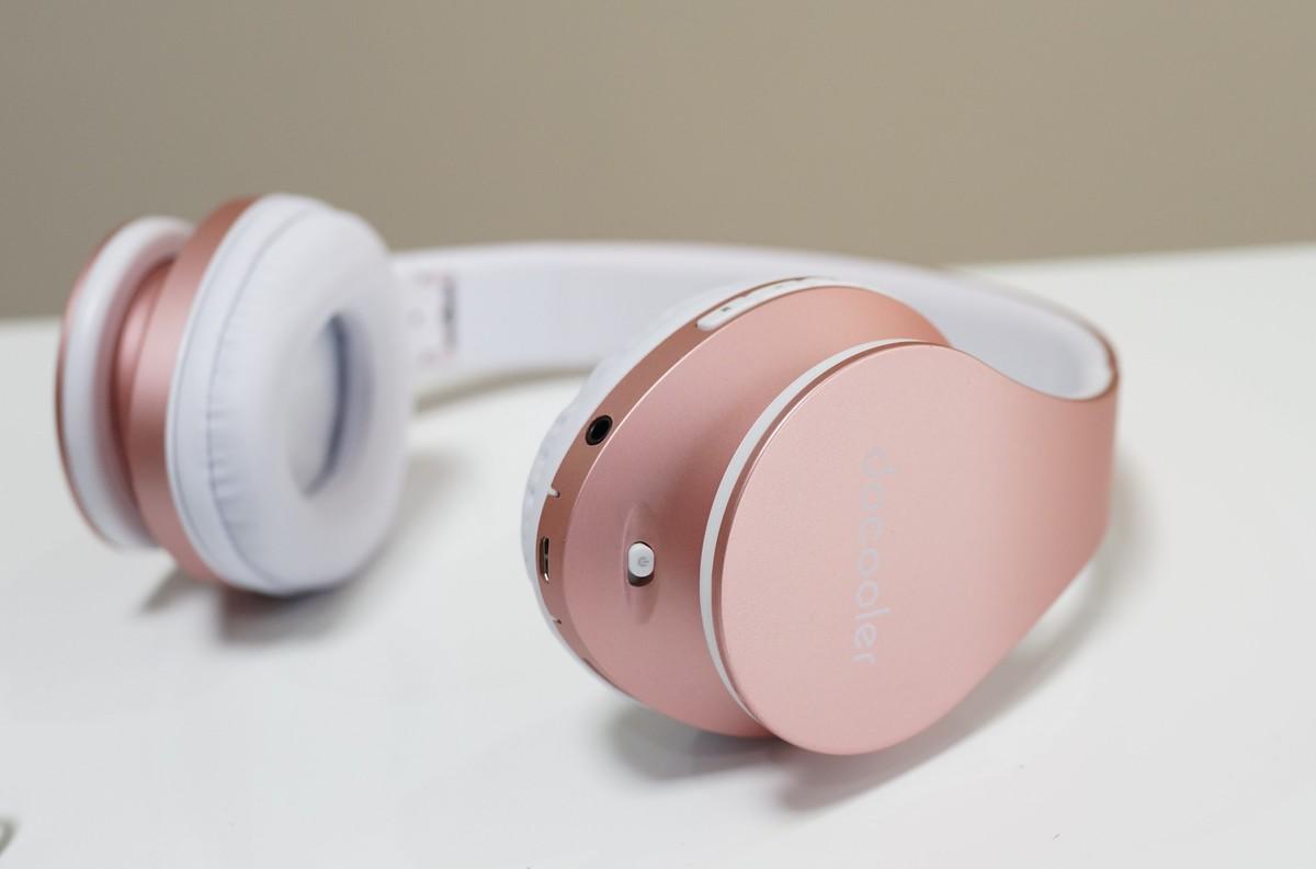 docooler Bluetoothヘッドホンレビュー  単体でFMラジオが聴ける!
