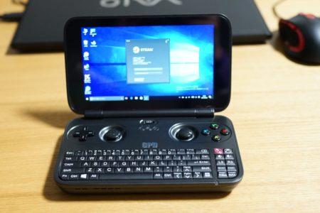 GPD Win 実機レビュー 5.5インチのWindows10小型PCのようなゲームパッド