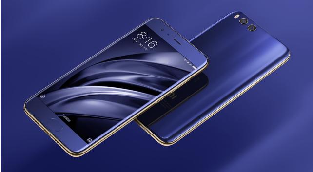 Xiaomi Mi6 スペック説明参考画像 外観