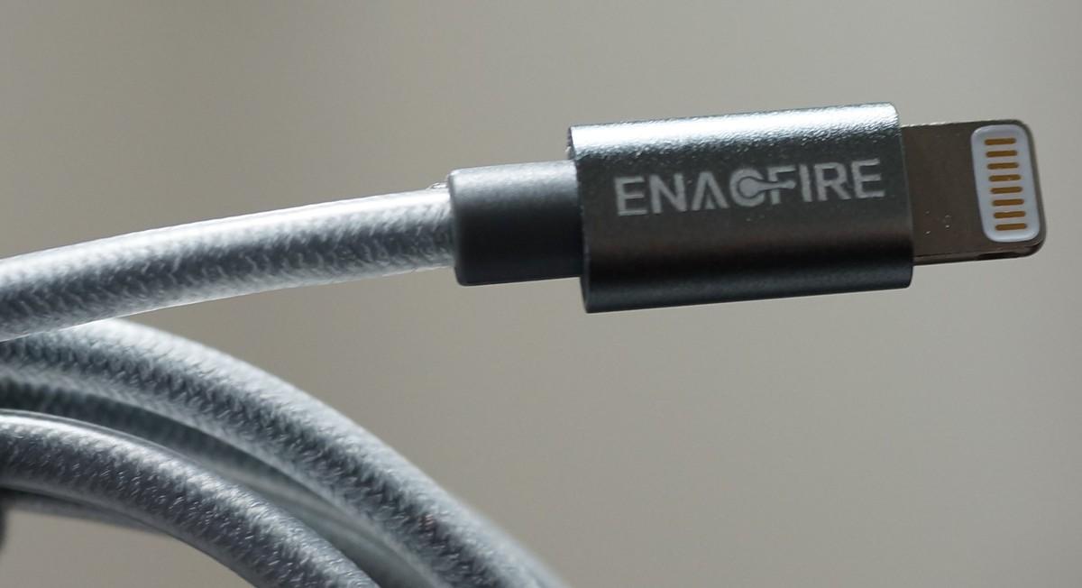 EnacFire ライトニングケーブルレビュー 高耐久五重保護の保護性参考画像