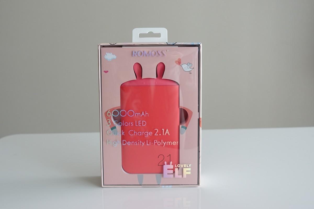 ROMOSS うざぎ型の可愛いモバイルバッテリーレビュー