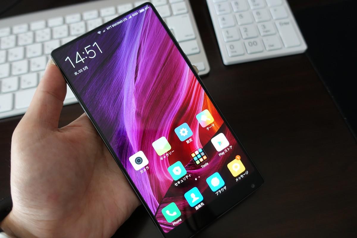 Xiaomi Mi Mix は Xiaomi EU のROM焼きでAUも使用可能に!
