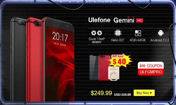 GeekBuyingでもUlefone Brandがセール中