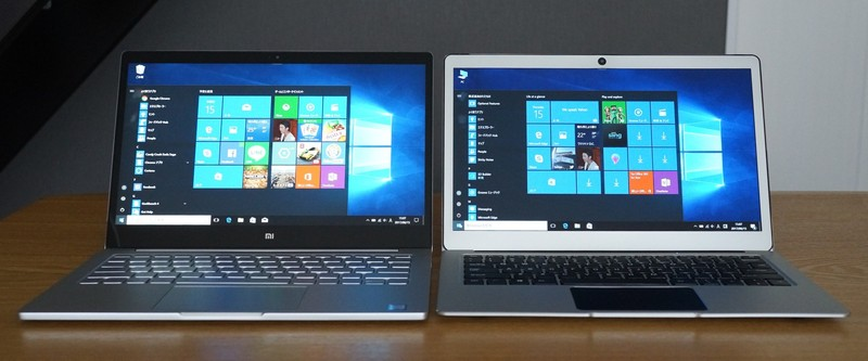 Jumper EZbook 3 Pro レビュー Xiaomi Air 13との比較写真