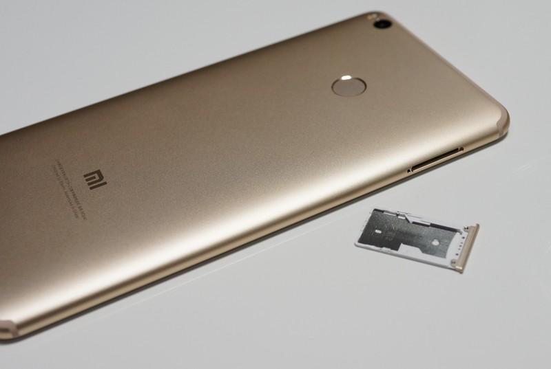 Xiaomi mi max 2 レビュー 外観写真 裏から見たところ
