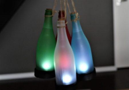 Lixada ワインボトル型で可愛いLEDソーラーパワーライトレビュー
