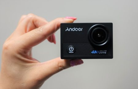 Andoer AN5000 レビュー 6,639円で驚愕の高機能なアクションカメラ!