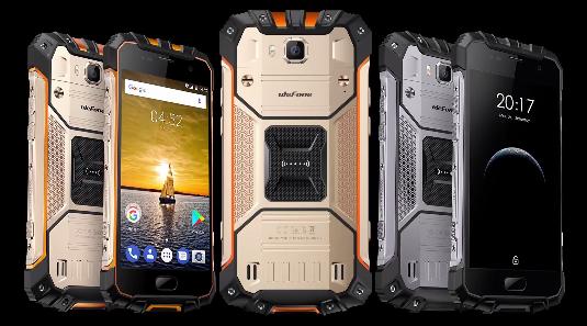 Ulefone Armor 2 主要スペック説明 外観参考画像