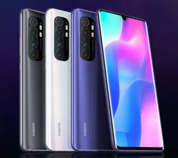 【最安価格は$265.68】Xiaomi Mi Note 10 Lite の割引クーポン