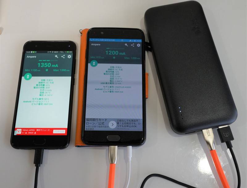 EC-Technology 26800mAhモバイルバッテリー ACアダプター付 レビュー