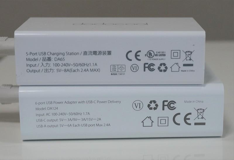 dodocool 60W 6ポート USB急速充電器 DA124レビュー