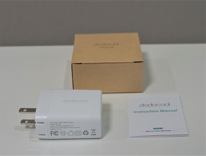 dodocool 2ポートUSB急速充電器 レビュー