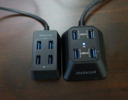 dodocool 4ポート搭載 USB3.0高速ハブ DC43 レビュー