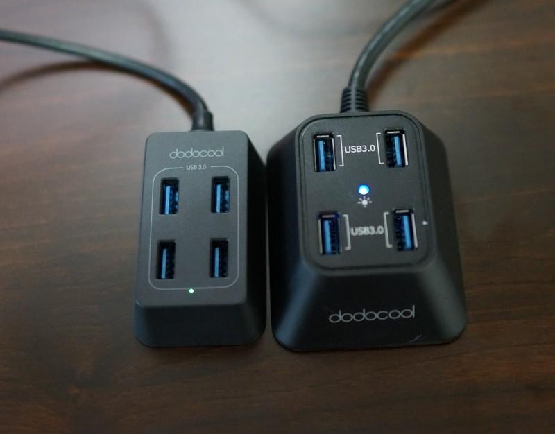 dodocool 4ポート搭載 USB3.0高速ハブレビュー