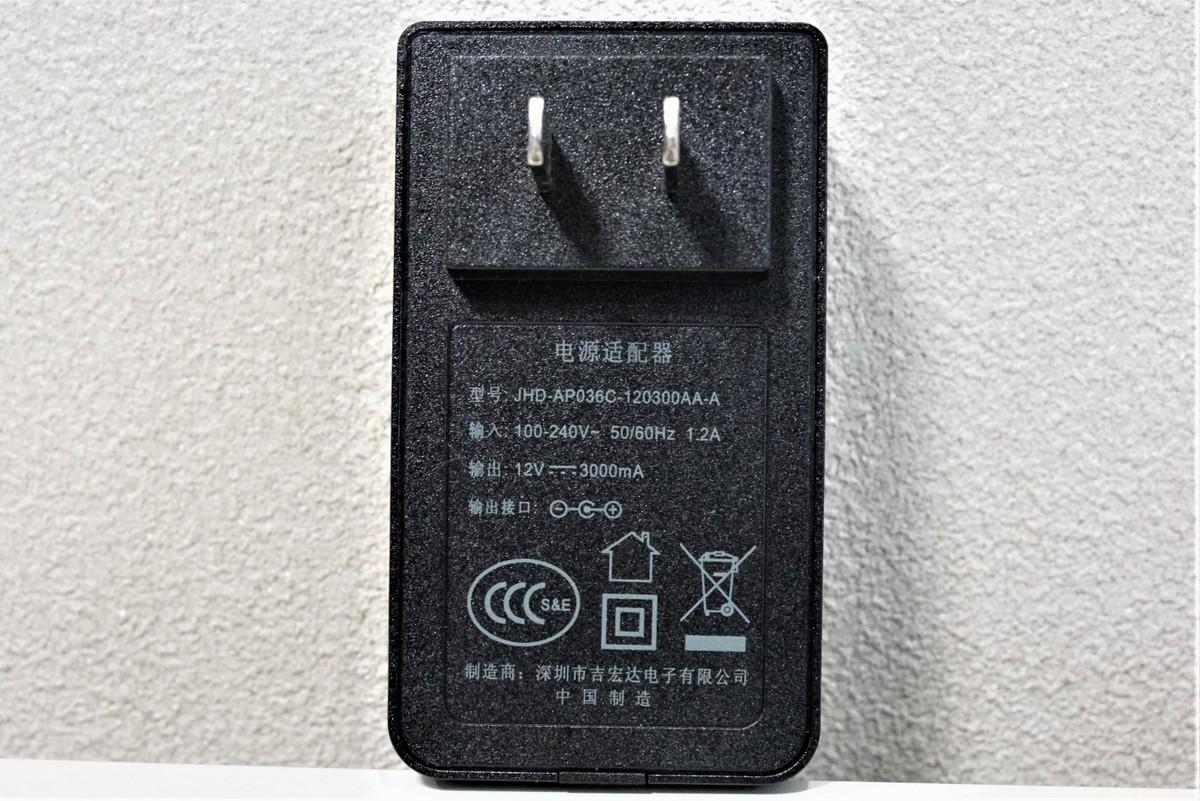 Jumper EZbook 3SE 必要電力の説明参考画像