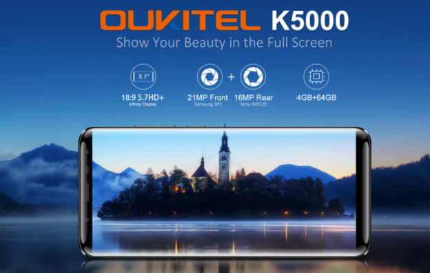 Oukitel K5000が$145.99