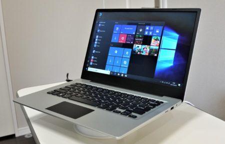 Jumper EZbook 3S 実機レビュー Intel Celeron N3450・メモリ6GB/256GBのSSDストレージで$269.99!