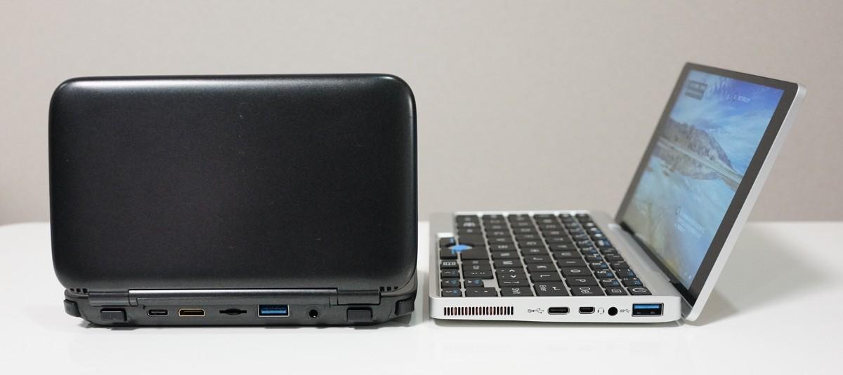 GPD Pocketのインターフェースについて GPD WINとの比較