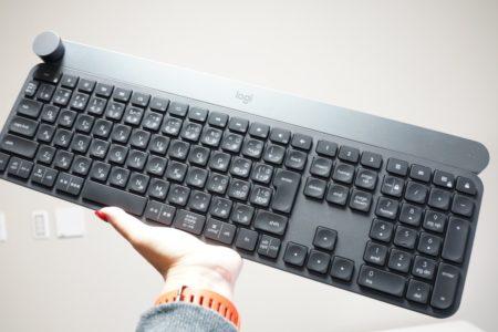 logicool craft レビュー ジェルネイルにおすすめのキーボード