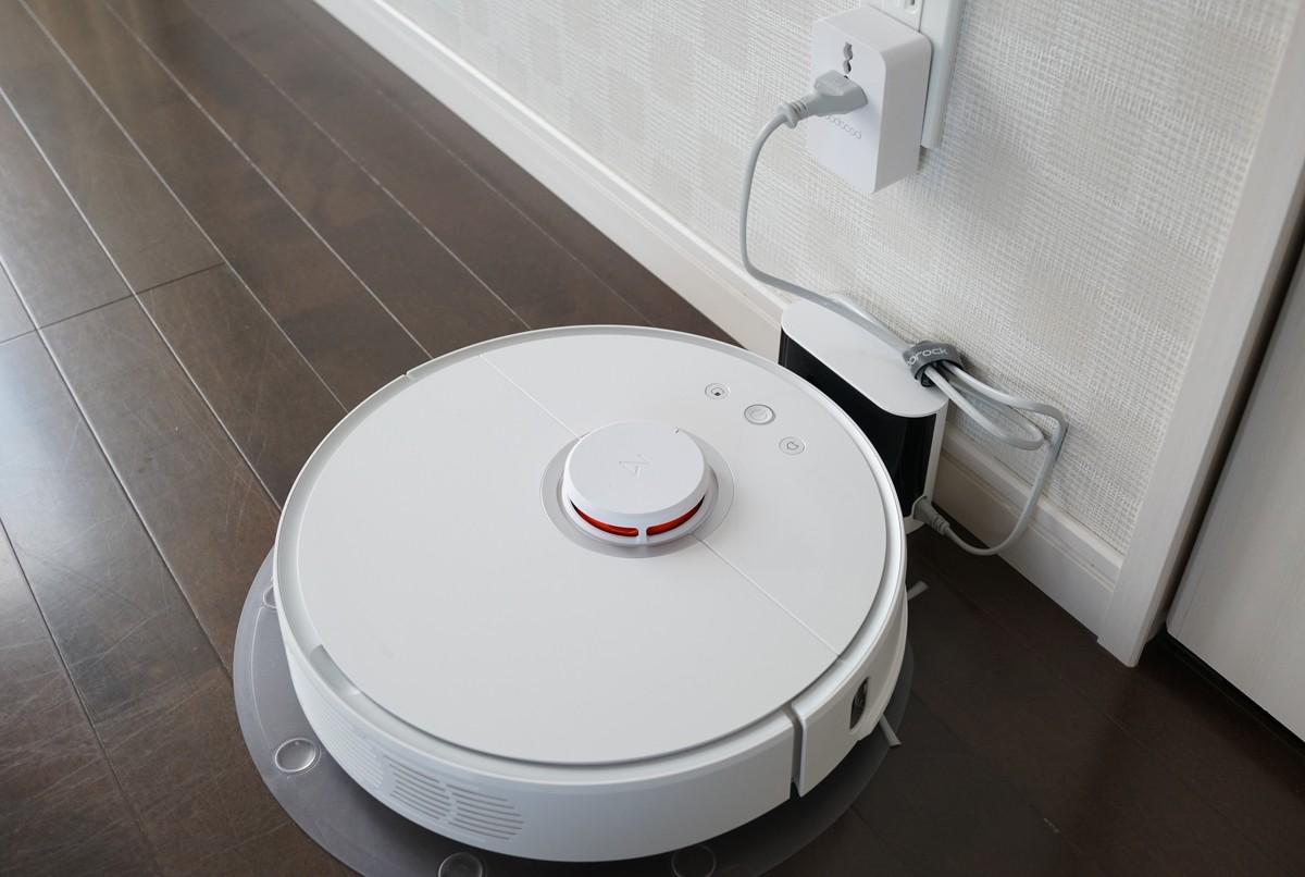 Xiaomiの水拭きが出来る新型お掃除ロボットレビュー roborock S50 Smart Robot Vacuum Cleaner