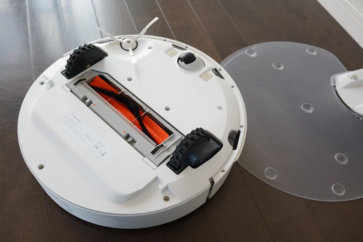 Xiaomiの水拭きが出来る新型お掃除ロボットレビュー 背面の写真