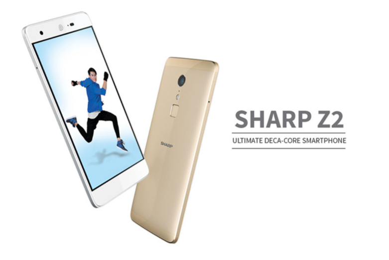 【クーポンで$99.99】SHARP Z2 スペックレビュー 前面に広角82度のカメラ搭載でセルフィー向き