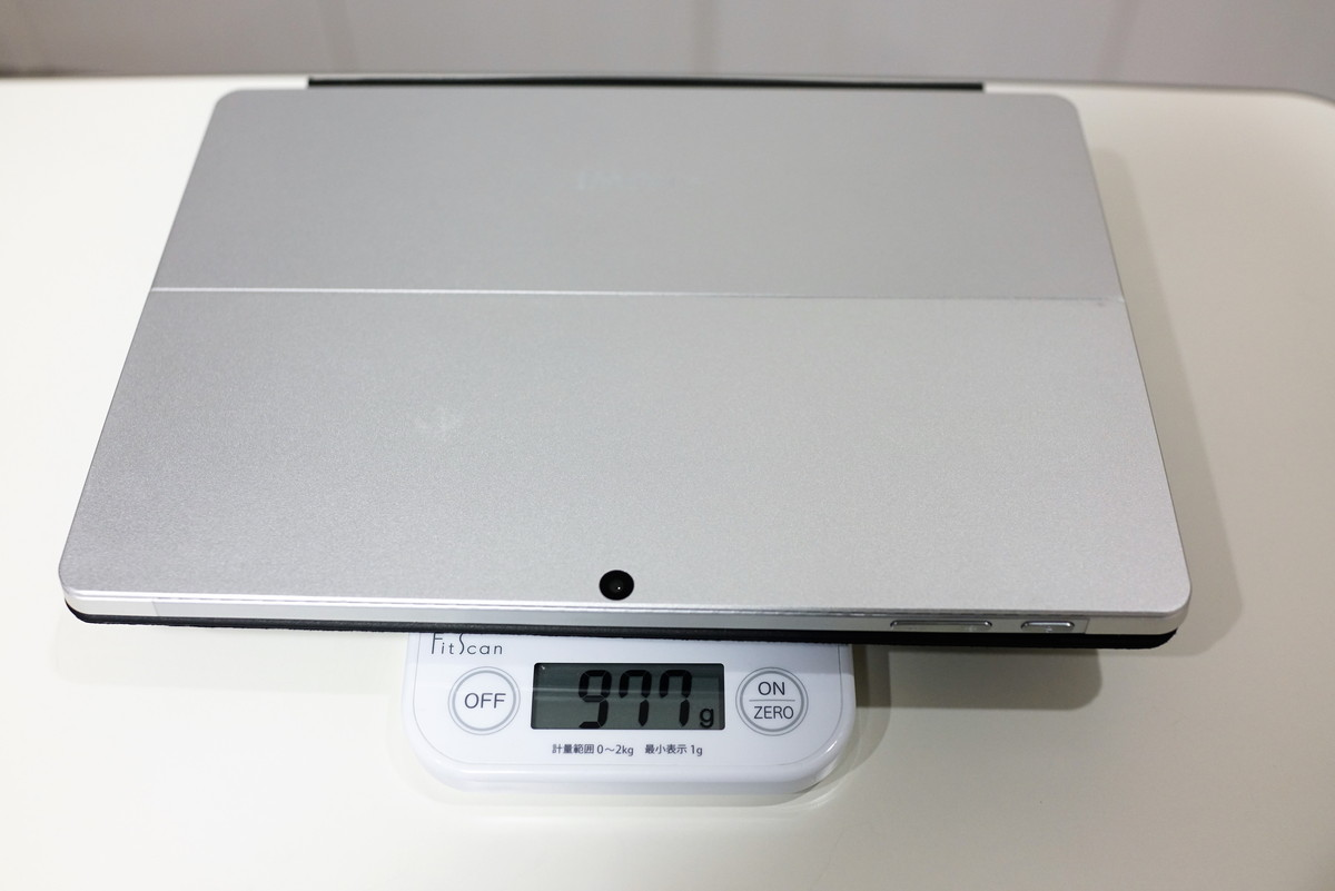 Chuwi SurBook Miniの実機レビュー