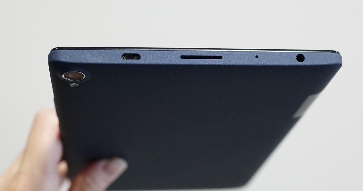 Lenovo P8 4Gタブレット実機レビュー