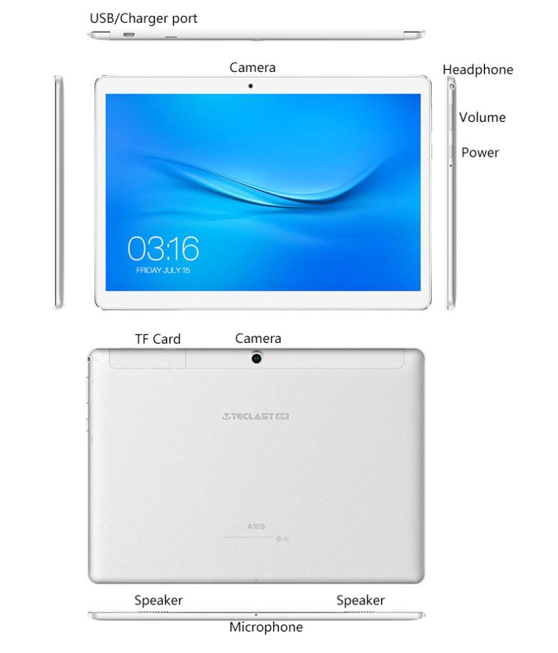 Teclast A10S Tablet PC