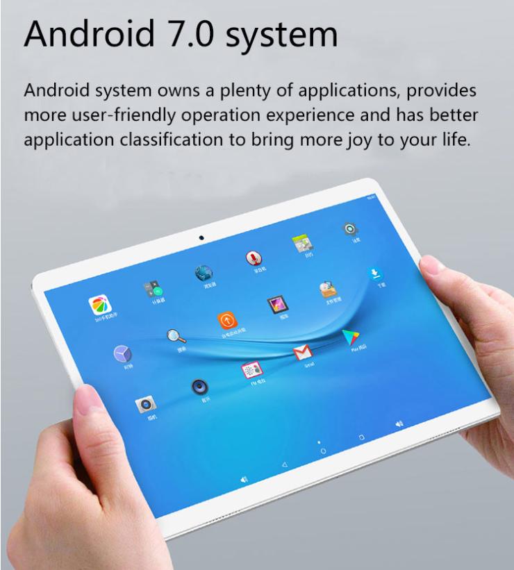 【クーポンで$89.99】Teclast A10S 10.1インチステレオスピーカー搭載高解像度Android7.0タブレット