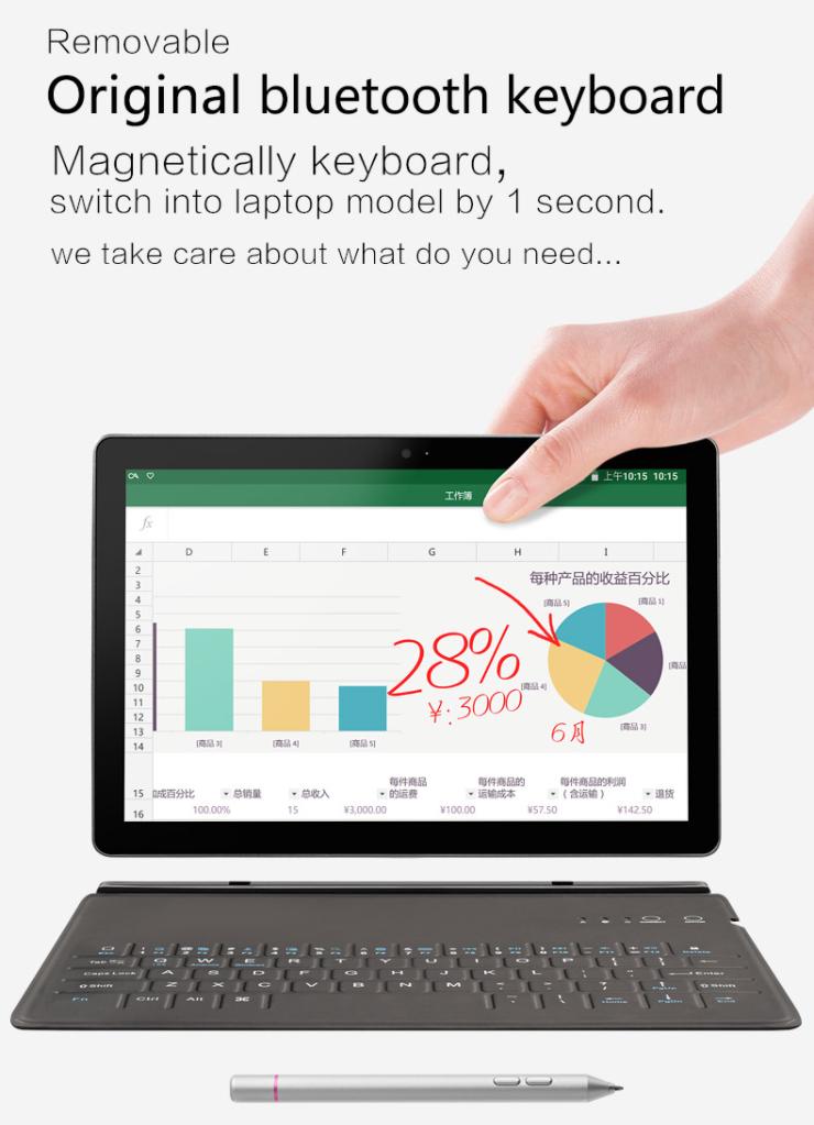【クーポンで$134.99】VOYO i8 Max 4G Phablet スペックレビュー 2024レベルの筆圧対応10.1インチ