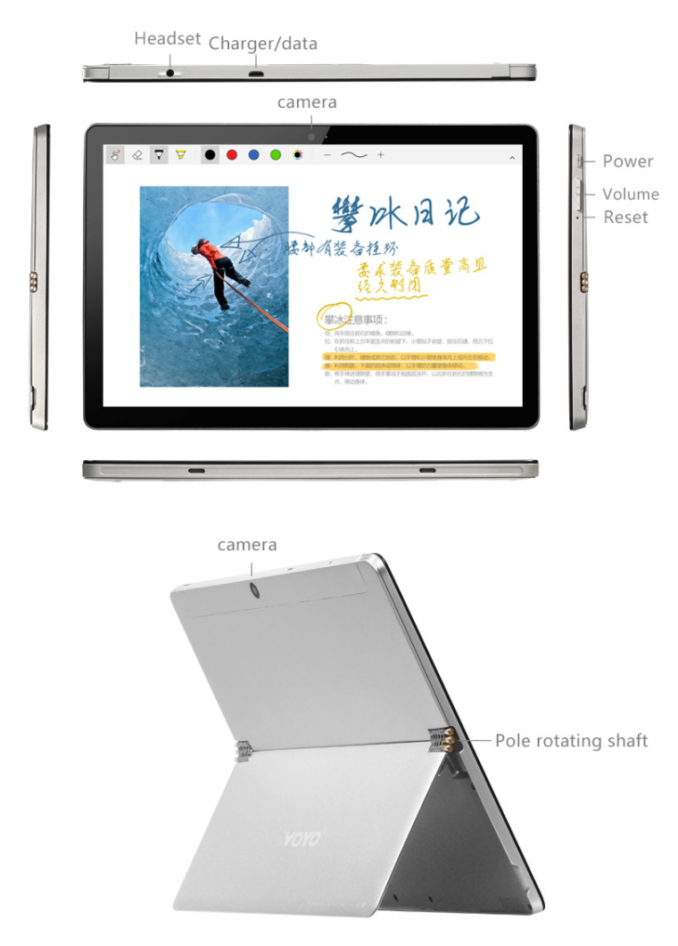 VOYO i8 Max 4G Phablet スペックレビュー