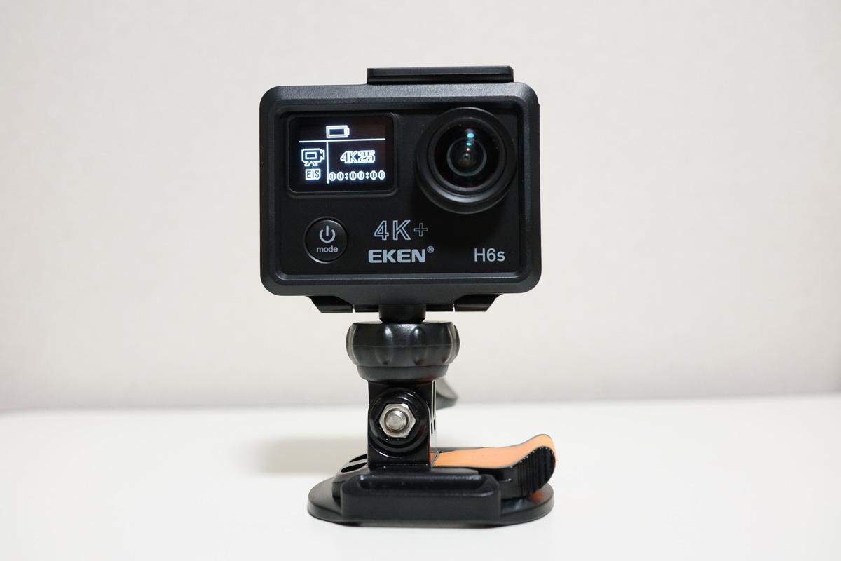 EKEN H6s アクションカメラレビュー  4K(3840×2160)FPS25撮影にEIS自動電子手ブレ補正対応!