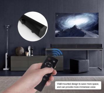サウンドバーとしても利用できるLP-09 Bluetoothスピーカーが53.99ドルでセール中