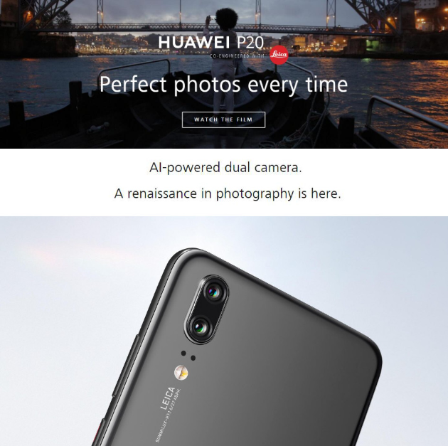GearBestからHuaweiの最新機種の割引クーポン発行!Huawei P20 4GB/128GB $579.99、HUAWEI Mate 10 Pro $629.99で台数限定セール!